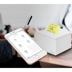 Cubinote Pro Sticky Note printer Wit BLUETOOTH/WLAN