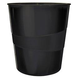 Papierbak Leitz WOW 15liter zwart