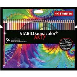Kleurpotloden STABILO aquacolor 1636-1-20 etui à 36 kleuren