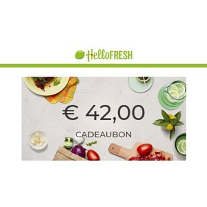 Hello Fresh Waardebon € 42.00