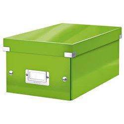 DVD-box Leitz WOW Click&Store 206 x 147 x 352 mm groen
