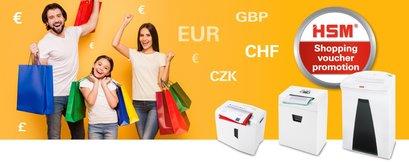 Nu bij HSM een gratis Shopping Gift Card tot € 60.00!