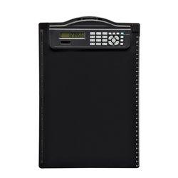 Klembord MAUL A4 staand + rekenmachine zwart