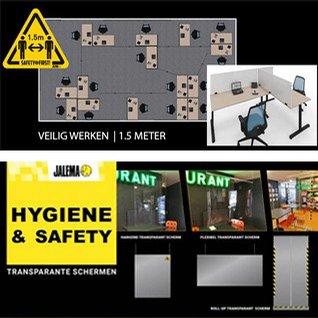 Veilig werken voor iedereen 1,5 meter