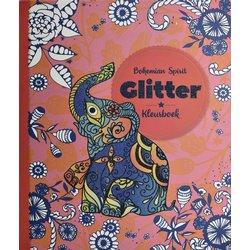 Kleurboek Interstat volwassenen glitter thema bohemian spirit