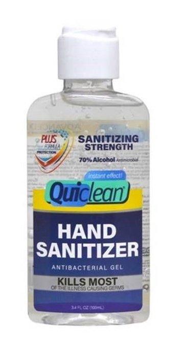 Quiclean Desinfectant Alcoholgel Handgel (100ml)