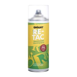 Lijmspray Ghiant High-Tac re-positioneerbaar 400ml