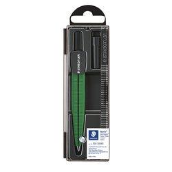Passer Staedtler 550 Noris schoolpasser metallic groen