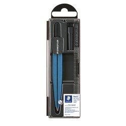 Passer Staedtler 550 Noris schoolpasser metallic blauw