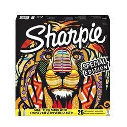Viltstift Sharpie fun leeuw special edition box à 26 stuks
