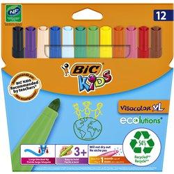 Kleurstift Bic Kids Ecolutions Visacolor XL ass