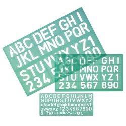 Lettersjabloon LINEX 8500S set à 3 stuks