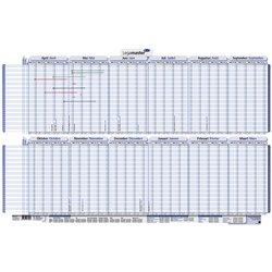 Vakantieplanner 2021-2022 Legamaster 60x90cm apr/mrt oprolbaar