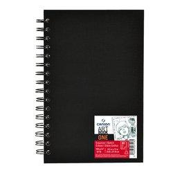 Tekenboek Canson One 21.6xx27.9cm 80v 100gr spiraal