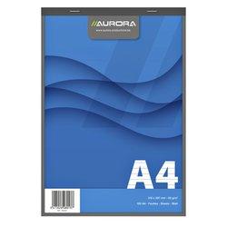 Schrijfblok Aurora A4 lijn 100vel 60gr