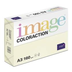 Kopieerpapier Coloraction, atoll/ivoor 160gr A3 (250v)