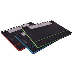 Schrift Adoc Coloredge A4 ruit 5x5mm 144blz 90gr PP zwart
