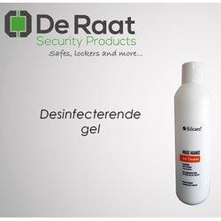 Desinfecterende gel De Raat max hand inhoud 25 flessen 1000 ml tbv De Raat dispensers