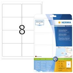 Etiket Herma 5077 A4 99.1x67.7mm premium wit