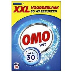 Wasmiddel Omo wit poeder 80Scoops 4,73kg