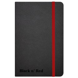 Notitieboek Oxford Black n' Red business journal A6 lijn