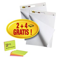 Meeting chart 3M Post-it 559 635x762mm 2 blokken + 4 blokken Meeting notes gratis