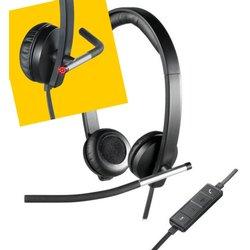 Headset Logitech H650E USB Computer headset 981-000519