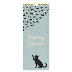 Verjaardagskalender cats