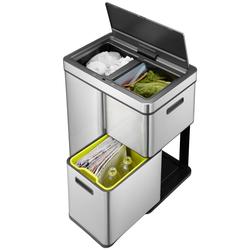 Afvalbak Mirage Plus Sensor Recycler 30+15+15 ltr No-touch EKO