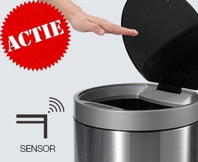 Veilig afval weggooien   Sensor Afvalbakken en Pedaalemmers