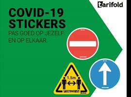 Covid-19 Stickers Tarifold