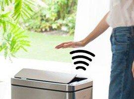 No-Touch afvalbakken en pedaalemmers