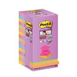 Memoblok 3M Post-it R330 76x76mm 16 color Z-notes
