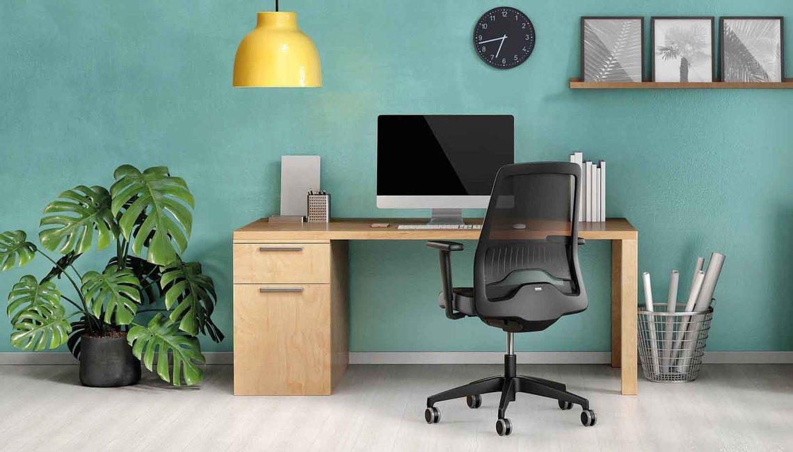 Thuiswerk bureaustoel