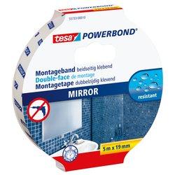 Powerbond Tesa 55733 voor spiegels 19mmx5m