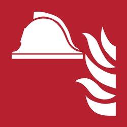 Pictogram Tarifold brandbestrijdingsmiddelen 200x200mm