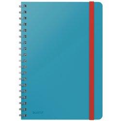Notitieboek Leitz Cosy B5 lijn spiraal blauw