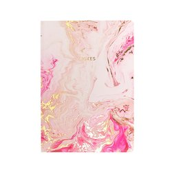 Notitieboek Marbelous Rose Quartz A5