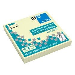 Memoblok Info Notes 75x75mm geel