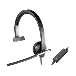 Headset Logitech H650E USB 981-000514 CABLE/MONO