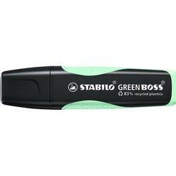 Markeerstift STABILO Green Boss vleugje mint