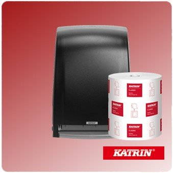 Handdoekrol dispensers en handdoek rollen Katrin hygiene.jpg