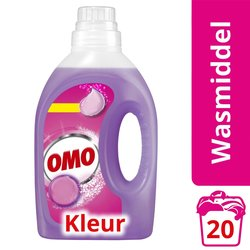 Wasmiddel Omo color vloeibaar 20scoops 1ltr