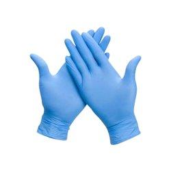 Handschoen Office nitril S 100 stuks blauw