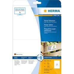 Etiket Herma Power 10910 210x148mm wit 50stuks
