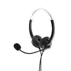 Headset MediaRange HP-115 H300D USB Stereo zwart