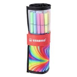 Viltstift Stabilo Pen 68 Arty edition ass