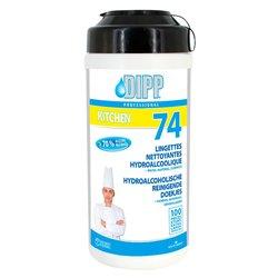 Reinigingsdoekjes DIPP hydroalcoholisch 100stuks