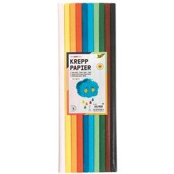 Crepepapier Folia 50x200cm Basis 10kleuren