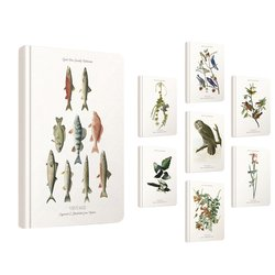 Notitieboek Gipta Vintage A5 lijn 8 assorti designs